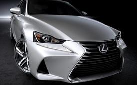 Xe sang Lexus IS 2017 trình làng với thiết kế mới