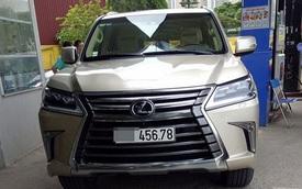 """""""Chuyên cơ mặt đất"""" Lexus LX570 2016 biển đẹp gây xôn xao cộng đồng mạng"""