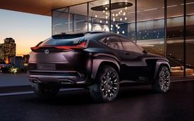 Lexus UX - Đối thủ mới của Mercedes-Benz GLA và BMW X1