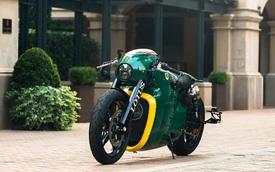 """Siêu mô tô gần như """"nguyên tem"""" Lotus C-01 lên sàn đấu giá"""