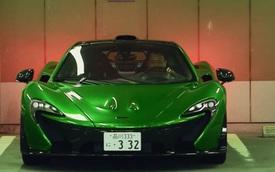 Luật sư Nhật Bản gây choáng khi lái siêu xe McLaren P1 đi làm hàng ngày