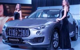 SUV hạng sang Maserati Levante ra mắt Đông Nam Á
