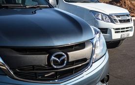Isuzu lắp ráp xe bán tải bán ra toàn cầu cho Mazda