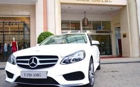 Mercedes-Benz bàn giao 2 xe E250 AMG cho khách sạn 5 sao