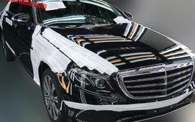 Mercedes-Benz E-Class trục cơ sở dài mới lộ diện