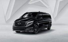 """Mercedes-Benz V-Class Black Crystal - """"Lâu đài di động"""""""