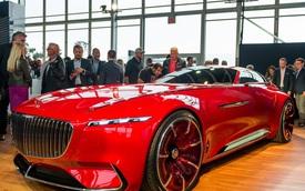 Chiêm ngưỡng coupe siêu sang Mercedes-Maybach 6 tuyệt đẹp ngoài đời thực