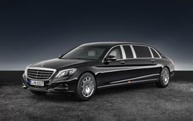 Mercedes-Maybach S600 Pullman Guard - Xe bọc thép triệu đô cho yếu nhân