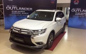 Mitsubishi Outlander 2016 đã có giá bán tại Việt Nam, từ 1,1 tỷ Đồng