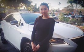 Người mẫu Ngọc Quyên tậu Lexus RX thế hệ mới