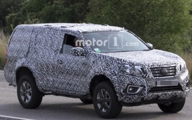 """""""Tóm gọn"""" Nissan Navara phiên bản SUV trên đường thử"""