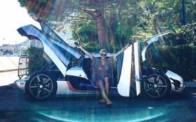 Nữ tay đua nóng bỏng gây choáng khi mua siêu xe Koenigsegg One:1