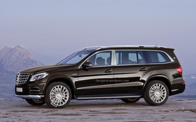 Mercedes-Benz úp mở về SUV siêu sang Mercedes-Maybach