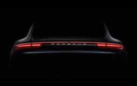 Porsche Panamera thế hệ mới dần được hé lộ thiết kế