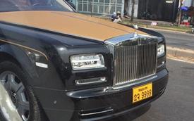 Bắt gặp Rolls-Royce Phantom Series II biển Lào trên đường Sài Gòn