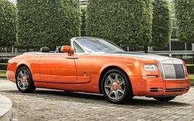 Rolls-Royce trình làng Phantom Drophead Coupe màu cam tuyệt đẹp