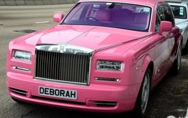 Chiêm ngưỡng Rolls-Royce Phantom EWB màu hồng của vợ tỷ phú Hồng Kông