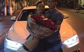 """""""Soái ca"""" Bình Dương mua xe sang tiền tỷ BMW 420i Coupe tặng vợ"""