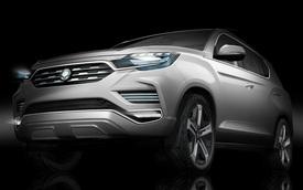 "SsangYong LIV-2 - SUV cỡ lớn cao cấp thay thế ""Mercedes giá rẻ"" Rexton"