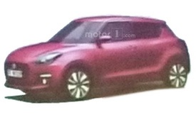 Suzuki Swift thế hệ mới bất ngờ lộ diện