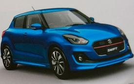 Suzuki Swift thế hệ mới chính thức lộ diện từ trong ra ngoài
