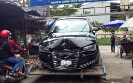 Cư dân mạng thi nhau đoán nguyên nhân của vụ tai nạn Audi A8 tại Đồng Nai