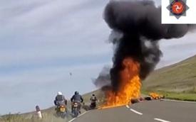 Người mẹ đăng video vụ tai nạn mô tô khiến con trai tử vong như lời cảnh báo