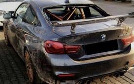 Chiếc BMW M4 GTS đầu tiên trên thế giới gặp nạn, hư hỏng nặng