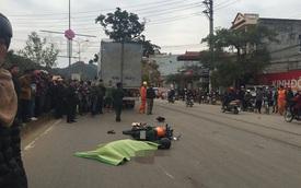 Sơn La: Bộ đội biên phòng lái xe máy đâm vào ô tô tải, tử vong