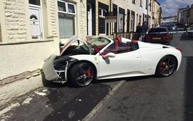 Chú rể tông siêu xe Ferrari 7,6 tỷ Đồng đi thuê vào tường nhà bạn