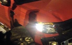 Nam Định: Ford Ranger gây tai nạn liên hoàn, bị nổ lốp vẫn bỏ chạy