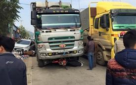 Cao Bằng: Hai xe tải vượt nhau, đâm 4 xe máy và 2 ô tô con