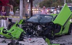 McLaren 650S Spider vỡ thành nhiều mảnh trong tai nạn liên hoàn kinh hoàng
