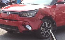 Chiếc SsangYong Tivoli đầu tiên gặp tai nạn tại Việt Nam