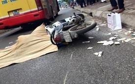 Hà Nội: Bị xe buýt cán qua người, một phụ nữ tử vong