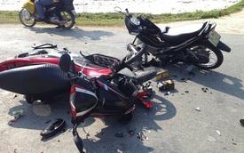 Hải Dương: Tai nạn xe máy ở tốc độ cao, 2 người tử vong
