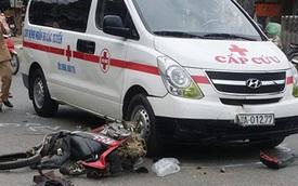 Xe máy đâm vào 2 ô tô, thanh niên sinh năm 1998 tử vong