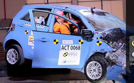 Kia Morning và Hyundai Eon gây sốc khi chỉ nhận 0 sao an toàn