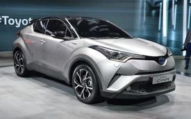 Toyota C-HR - Đối thủ đáng gờm trong phân khúc crossover cỡ nhỏ
