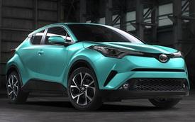 Thiết kế phá cách chưa đủ, Toyota C-HR có cả những màu sơn táo bạo
