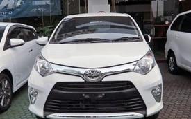 Xe gia đình giá rẻ Toyota Calya xuất hiện tại đại lý trước khi ra mắt