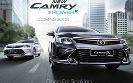 Toyota Camry 2016 sắp ra mắt Việt Nam được hé lộ tại Malaysia, giá từ 778 triệu Đồng