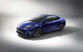 Chi tiết Toyota Corolla 2017, giá từ 411 triệu Đồng