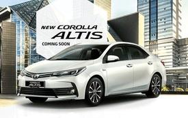 Toyota Corolla Altis 2017 sẽ về Việt Nam sắp ra mắt Đông Nam Á