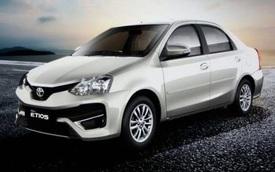 """Xe giá rẻ Toyota Etios phiên bản mới rò rỉ """"ảnh nóng"""""""