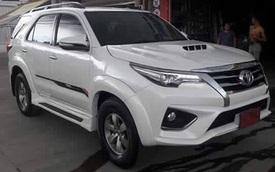 Xuất hiện bộ body kit biến Toyota Fortuner cũ thành phiên bản 2016