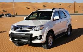 Toyota Fortuner bọc thép trình làng, giá từ 2,1 tỷ Đồng
