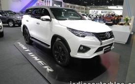 Ngắm xe tiền tỷ Toyota Fortuner TRD Sportivo 2016 ngoài đời thực