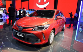 Toyota Vios 2016 với thiết kế khác biệt ra mắt