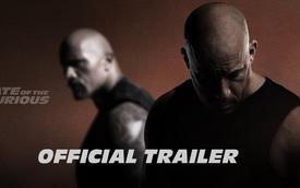 """""""Nghẹt thở"""" với trailer chính thức của """"Fast and Furious 8"""""""